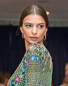 Actress Emily Ratajkowski arrives for the 2016 White House Correspondents Association Annual Dinner at the Washington Hilton Hotel on Saturday, April 30, 2016.<br /> Credit: Ron Sachs / CNP<br /> (RESTRICTION: NO New York or New Jersey Newspapers or newspapers within a 75 mile radius of New York City)