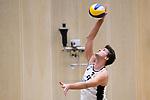 05.01.2019, Den Haag, Sportcampus Zuiderpark<br />Beachvolleyball, FIVB World Tour, 2019 DELA Beach Open<br /><br />Aufschlag / Service Santeri Siren (#2 FIN)<br /><br />  Foto &copy; nordphoto / Kurth