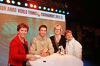 12-02-13, Tennis, Rotterdam, ABNAMROWTT, Igor Sijsling signing