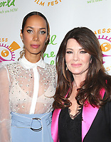 LSO ANGELES, CA - October 05: Leona Lewis, Lisa Vanderpump, At 2017 Awareness Film Festival - Opening Night Premiere Of 'The Road To Yulin And Beyond' At Regal LA Live Stadium 14 In California on October 05, 2017. <br /> CAP/MPI/FS<br /> &copy;FS/MPI/Capital Pictures