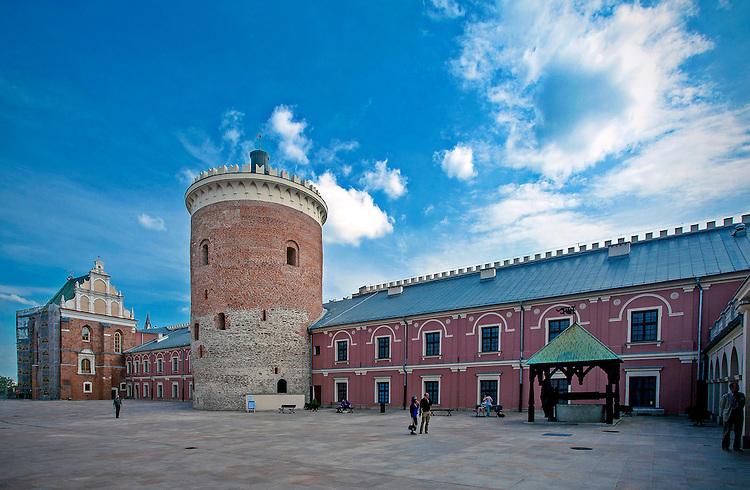 Dziedziniec zamku w Lublinie