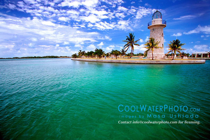 lighthouse (ornamental), .Boca Chita Key, .Biscayne National Park, Florida (Atlantic).