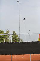 August 6, 2014, Netherlands, Rotterdam, TV Victoria, Tennis, National Junior Championships, NJK,  Lightpoles<br /> Photo: Tennisimages/Henk Koster