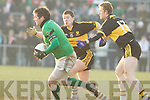 Colm Cooper Kieran O'Leary Dr. Crokes v Brian Morgan Nemo Rangers in their AIB Senior Club Football Championship Munster Final at Mallow GAA Grounds on Sunday 30th January 2011.