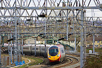 Intercity train, Shropshire, United Kingdom