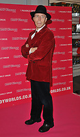 Dr Gunther von Hagens at the Bodyworlds human anatomy exhibition VIP launch, The London Pavilion, Piccadilly Institute, London, England, UK, on Thursday 04 October 2018.<br /> CAP/CAN<br /> &copy;CAN/Capital Pictures