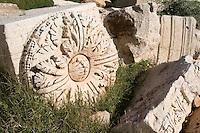 Leptis Magna, Libya - Roman Ruins, Stonecarving