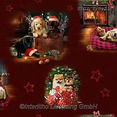GIORDANO, GIFT WRAPS, GESCHENKPAPIER, PAPEL DE REGALO, Christmas Santa, Snowman, Weihnachtsmänner, Schneemänner, Papá Noel, muñecos de nieve, paintings+++++Fireside Pups Scenic,USGIPROV21,#gp#,#x# ,dog,dogs