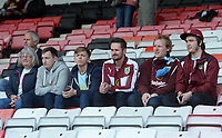 Burnley fans arrive at the Vitality Stadium prior to kick off <br /> <br /> Photographer Ian Cook/CameraSport<br /> <br /> The Premier League - Bournemouth v Burnley - Saturday 13th May 2017 - Vitality Stadium - Bournemouth<br /> <br /> World Copyright &copy; 2017 CameraSport. All rights reserved. 43 Linden Ave. Countesthorpe. Leicester. England. LE8 5PG - Tel: +44 (0) 116 277 4147 - admin@camerasport.com - www.camerasport.com