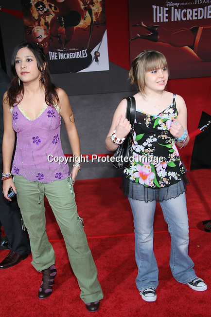 Mae Whitman &amp; Lalaine<br />