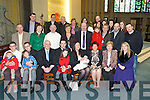 CHRISTENED: On Sunday in St Brendan's Church, Tralee baby Donnacha O'Brien was christened by Fr patsy Lynch,Daughter of David O'Brien (jnr) and Tara Quirke on David's lap is Tara's Danielle.