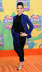 America Ferrera arriving at the 'Nickelodeon's 27th Kids Choice Awards' held at USC Galen Center, Los Angeles, CA. March 29, 2014.