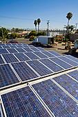 Solar Array on rooftop of ABC Tree Nursery, Installation by Martifer Solar USA, Gardena, California, USA