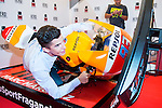 20161005. Marc Marquez present his new fragrance Hero Sport.