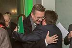 04.02.2019, Dorint Park Hotel Bremen, Bremen, GER, 1.FBL, 120 Jahre SV Werder Bremen - Gala-Dinner<br /> <br /> im Bild<br />  Dr. Hubertus Hess-Grunewald (Geschäftsführer Organisation & Sport SV Werder Bremen) begruesst Reinhard Grindel (DFB Präsident)<br /> <br /> Der Fussballverein SV Werder Bremen feiert am heutigen 04. Februar 2019 sein 120-jähriges Bestehen. Im Park Hotel Bremen findet anläßlich des Jubiläums ein Galadinner statt. <br /> <br /> Foto © nordphoto / Ewert