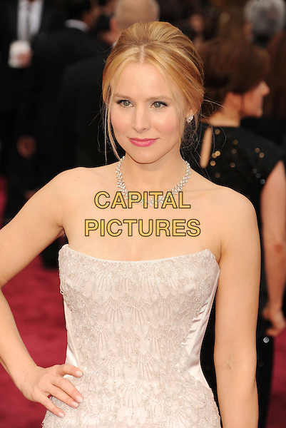HOLLYWOOD, CA- MARCH 02: Actress Kristen Bell attends the 86th Annual Academy Awards held at Hollywood &amp; Highland Center on March 2, 2014 in Hollywood, California.<br /> CAP/ROT/TM<br /> &copy;Tony Michaels/Roth Stock/Capital Pictures