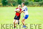 Kevin O'sullivan Kenmare gis tackled by Maurice O'connell  Desmonds during their County league clash in Castleisland on Sunday