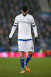 Diego Costa of Chelsea dejected during the Emirates FA Cup match at Goodison Park. Photo credit should read: Philip Oldham/Sportimage