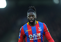Crystal Palace's Bakary Sako<br /> <br /> Photographer Ashley Crowden/CameraSport<br /> <br /> The Premier League - Crystal Palace v Burnley - Saturday 13th January 2018 - Selhurst Park - London<br /> <br /> World Copyright &copy; 2018 CameraSport. All rights reserved. 43 Linden Ave. Countesthorpe. Leicester. England. LE8 5PG - Tel: +44 (0) 116 277 4147 - admin@camerasport.com - www.camerasport.com