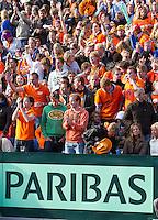 14-09-12, Netherlands, Amsterdam, Tennis, Daviscup Netherlands-Suiss, Dutch Support