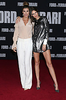 """LOS ANGELES - NOV 4:  Elisabetta Canalis, Bianca Balti at the """"Ford v Ferrari"""" Premiere at TCL Chinese Theater IMAX on November 4, 2019 in Los Angeles, CA"""