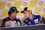 FRANCO MORBIDELLI - ITALIAN - EG 0,0 MARC VDS - KALEX<br /> VALENTINO ROSSI - ITALIAN - MOVISTAR YAMAHA MotoGP - YAMAHA