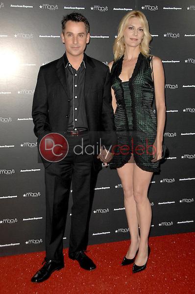 Thea Gill and husband Brian<br />at the Macy's Passport 2008 Gala. Barker Hanger, Santa Monica, CA. 09-25-08<br />Dave Edwards/DailyCeleb.com 818-249-4998