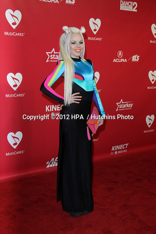 LOS ANGELES - FEB 10:  Kerli arrives at the 2012 MusiCares Gala honoring Paul McCartney at LA Convention Center on February 10, 2012 in Los Angeles, CA