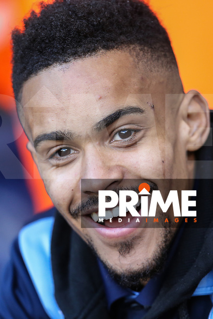 Paris Cowan-Hall of Wycombe Wanderers during the FA Cup 4th round match between Tottenham Hotspur and Wycombe Wanderers at White Hart Lane, London, England on 28 January 2017. Photo by PRiME Media Images / David Horn.