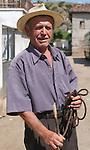 Lin-Pogradec-Albania - August 02, 2004---A man at/from the village of Lin; region/village of project implementation by GTZ-Wiram-Albania (German Technical Cooperation, Deutsche Gesellschaft fuer Technische Zusammenarbeit (GTZ) GmbH); portrait-people---Photo: © HorstWagner.eu