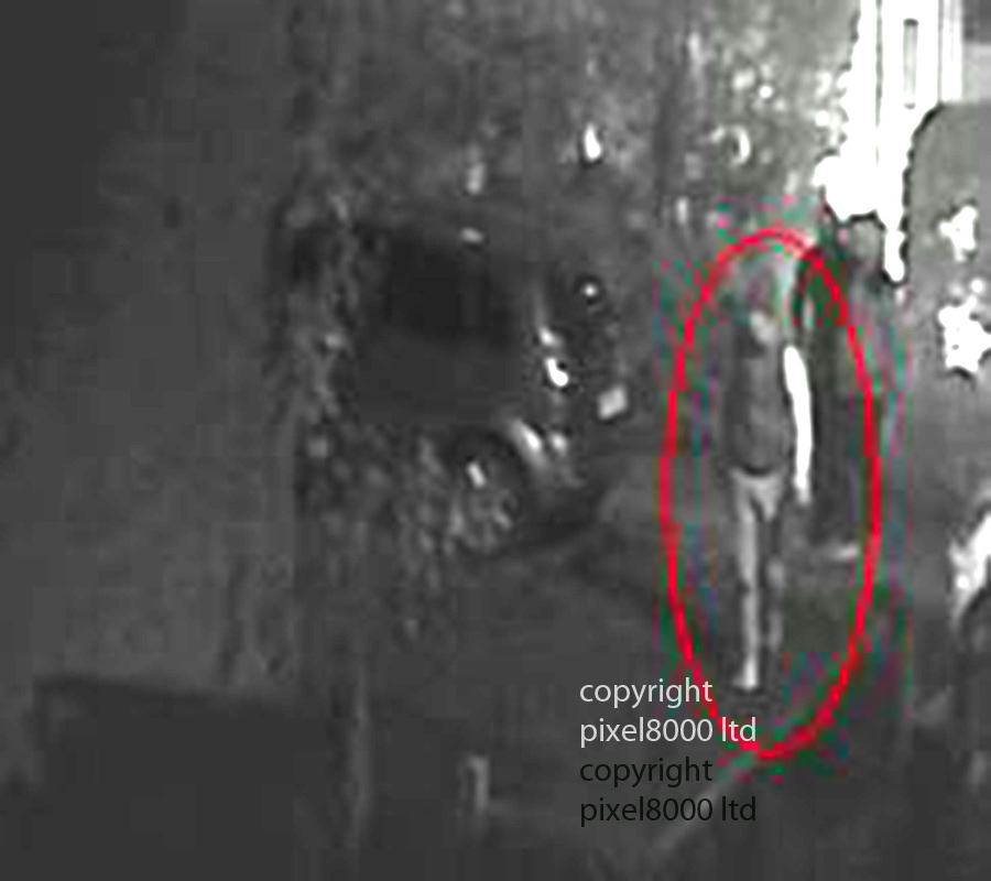Pic shows: Police material relating to the death of  Maureen Whale<br /> <br /> Suspect 1 caught on CCTV<br /> <br /> <br /> Picture by Pixel8000 07917221968
