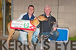 LEGEND: Mark and Chris Houlihan photographed with Cashen Legend after winning the Laurels in Cork on Saturday night.   Copyright Kerry's Eye 2008
