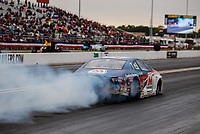 Sep 1, 2017; Clermont, IN, USA; NHRA pro stock driver Allen Johnson during qualifying for the US Nationals at Lucas Oil Raceway. Mandatory Credit: Mark J. Rebilas-USA TODAY Sports
