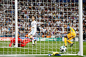 13th September 2017, Santiago Bernabeu, Madrid, Spain; UCL Champions League football, Real Madrid versus Apoel; Cristiano Ronaldo dos Santos (7) Real Madrid scores for 1-0