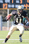 Palos Verdes, CA 10/08/10 - Brandon Canky (Peninsula #11) in action during the South Torrance Spartans vs Peninsula Panthers Varsity football game at Palos Verdes Peninsula High School.