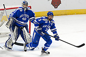 Shane Starrett (AFA - 40), Johnny Hrabovsky (AFA - 3) - The Harvard University Crimson defeated the Air Force Academy Falcons 3-2 in the NCAA East Regional final on Saturday, March 25, 2017, at the Dunkin' Donuts Center in Providence, Rhode Island.