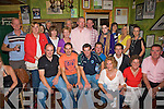 Kerry Crusaders: At the launch of the Kerry crusaders in John B Keanes Bar, Listowel are:  Gordon Flannery, Peter Murphy, Vinnie O' Leary, Anthony Sheehy, Connor O' Neill, Margaret Heaphy, Eileen McCarthy and Brendan Heaphy. Tom Mc Elligott, Christina Purcell, Marrian Fitzgerald, Mary Fagan, William O' Sullivan, Mary Gleeson, Mairead Sommers, Elaine Breen, Mairead White, Maura Fitzmaurice, Ann Marie Carroll and Kevin Barry.