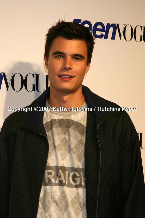 Ryan Sypek.Teen Vouge Young Hollywood Party.Vibiana.Los Angeles,  CA.September 20, 2007.©2007 Kathy Hutchins / Hutchins Photo...               .