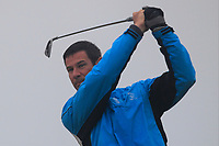 Fergal Kennedy (The Island) on the 1st tee during Round 1 - Matchplay of the North of Ireland Championship at Royal Portrush Golf Club, Portrush, Co. Antrim on Wednesday 11th July 2018.<br /> Picture:  Thos Caffrey / Golffile