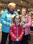 Dynagh Donegan, Uná Lynch and Lily Kirk at the opening Dunne's Centra Ardee. Photo:Colin Bell/pressphotos.ie