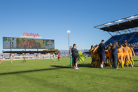 San Jose, Ca - December 2, 2016: West Virginia defeated North Carolina 1:0 in a semi-final match up of the NCAA Women's Soccer College Cup at Avaya Stadium in San Jose California.
