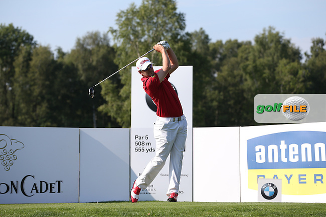 Bernd Wiesberger (AUT) made 68 and will play the weekend, on the 11th tee during Round Two of the 2015 BMW International Open at Golfclub Munchen Eichenried, Eichenried, Munich, Germany. 26/06/2015. Picture David Lloyd | www.golffile.ie