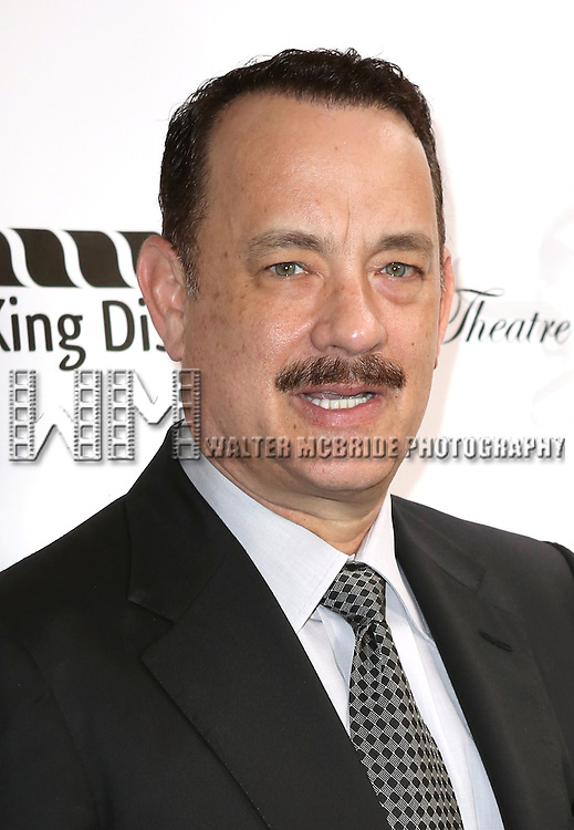 Tom Hanks attending the 69th Annual Theatre World Awards at the Music Box Theatre in New York City on June 03, 2013.