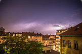 SERBIA, Belgrade, Lightning over Belgrade, Eastern Europe