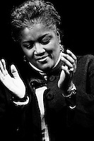 The Wonderful Donna Brazile, during applause for Rev. Jesse Jackson