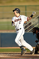 SAN ANTONIO, TX - MAY 2, 2017: The University of Texas at San Antonio Roadrunners fall to the Texas State University Bobcats 11-8 at Roadrunner Field. (Photo by Jeff Huehn)