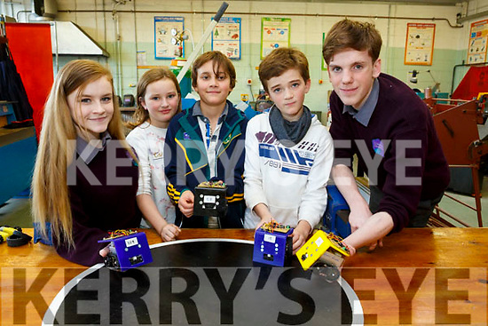 At the Colaiste Gleann Lí Open Day on Saturday were Melanie Smith, Saoirse Tebow, Oisin Lawlor, Sean Tebow, Ethan Byrne