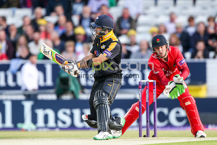 Picture by Alex Whitehead/SWpix.com - 05/06/2015 - Cricket - NatWest T20 Blast - Yorkshire Vikings v Lancashire Lightning - Headingley Cricket Ground, Leeds, England - Yorkshire's Glenn Maxwell hits out.