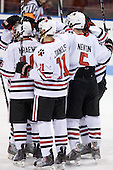 - The Northeastern University Huskies defeated the Providence College Friars 3-1 (EN) on Tuesday, January 19, 2010, at Matthews Arena in Boston, Massachusetts.