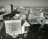 1961 November 28..Redevelopment.Downtown North (R-8)..Downtown Progress..North View from VNB Building..HAYCOX PHOTORAMIC INC..NEG# C-61-5-96.NRHA#..